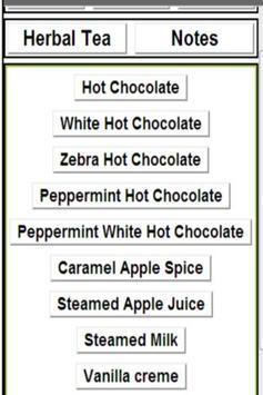 non-coffee menu from starbucks apk screenshot