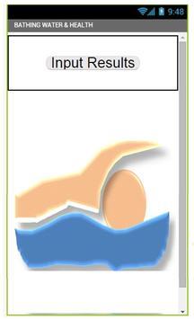 BATHING WATER AND HEALTH apk screenshot