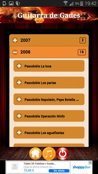 Guitarra de Gades - Acordes screenshot 1