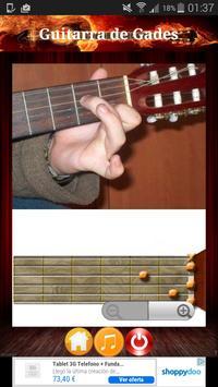 Guitarra de Gades - Acordes screenshot 3