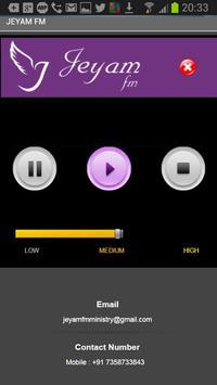 Jeyam Fm Radio screenshot 1
