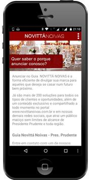 NovittáNoivas - Prudente screenshot 4