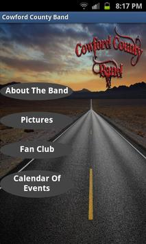 Cowford County Band poster