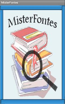 MisterFontes apk screenshot
