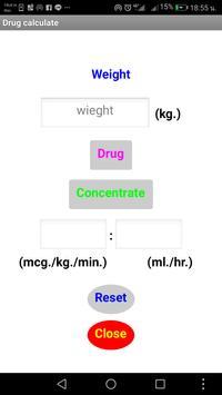 Drug calculate for nurse screenshot 2