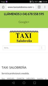 Taxi Salobreña apk screenshot