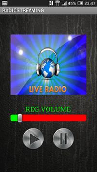 RADIOSTREAMING screenshot 1