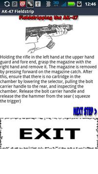 AK-47 Fieldstrip Guide screenshot 1