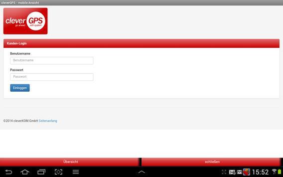cleverGPS APP - Fahrzeugortung screenshot 6