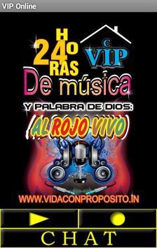 VIP online Poster