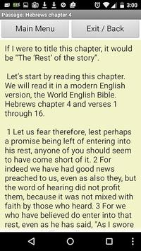 Bible Insight Hebrews 4 apk screenshot