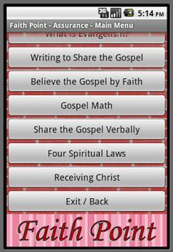 Faith Point Evangelism poster