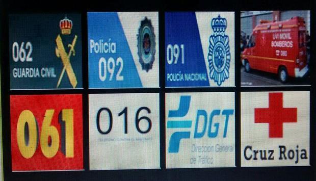 TELÉFONO EMERGENCIAS ESPAÑA. poster