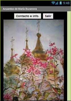 Acuarelas de María Buzanova apk screenshot