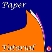 origami paper tutorial icon