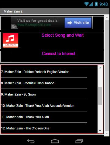 Lagu MAHER ZAIN - 2 All Song for Android - APK Download