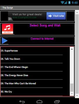 THE SCRIPT All Song screenshot 4