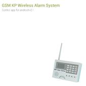 GSM KP Wireless burglar alarm icon
