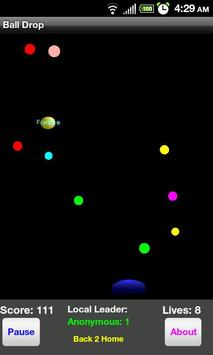 Ball Drop LITE apk screenshot