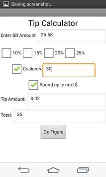 Tip Calculator Free Screenshot 1