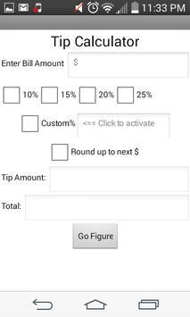 Tip Calculator Free imagem de tela 2