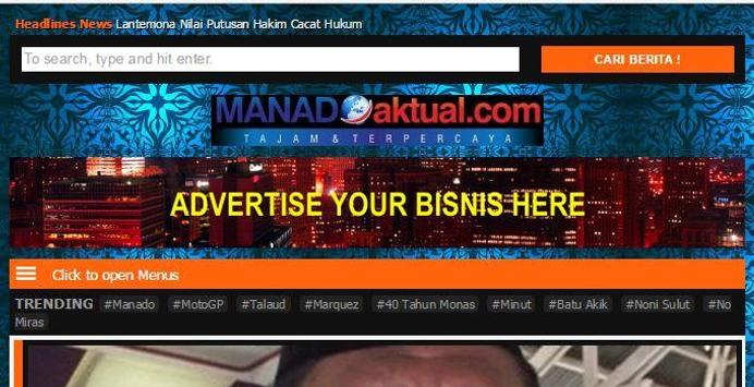 Manado Aktual apk screenshot