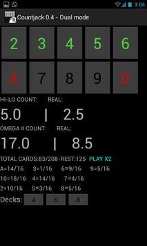 Countjack  Blackjack Tool apk screenshot