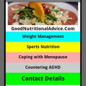 Good Nutritional Advice icon