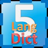 Kamus Lima Bahasa biểu tượng
