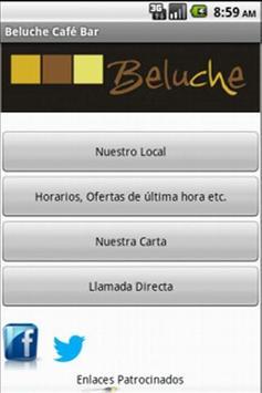 Beluche cafe-bar Burguillos poster