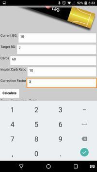 InCalc: Insulin Calculator apk screenshot