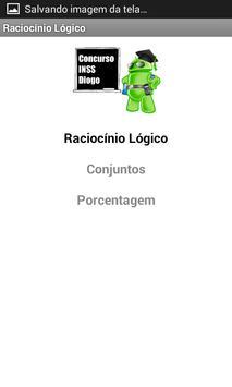 Concurso INSS Diogo screenshot 5