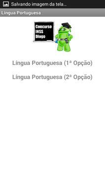 Concurso INSS Diogo screenshot 7