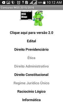 Concurso INSS Diogo screenshot 2