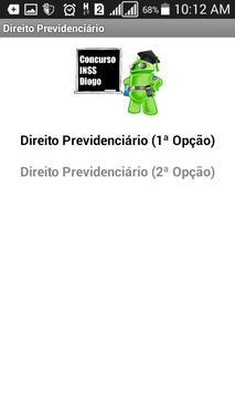 Concurso INSS Diogo screenshot 3