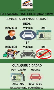 Reds, ISP, Detran poster