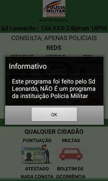 Reds, ISP, Detran screenshot 2