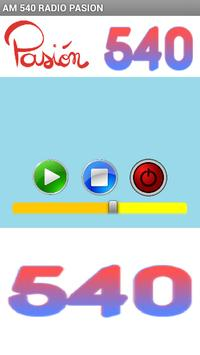 AM 540 RADIO PASION apk screenshot