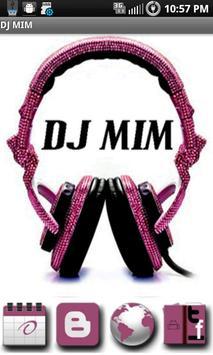 DJ MIM poster