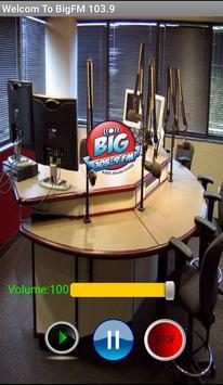 Big FM 103.9 poster