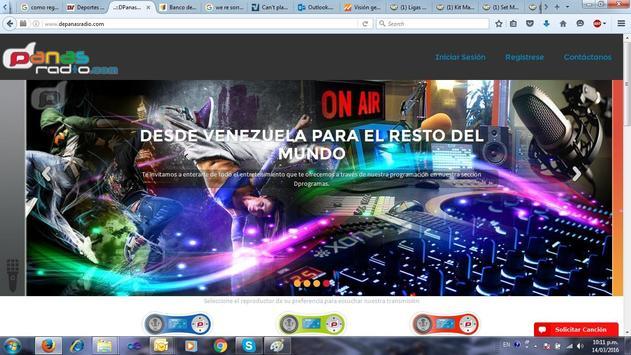 dpanasradio apk screenshot