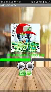 WEB RADIO VIVO FM screenshot 2