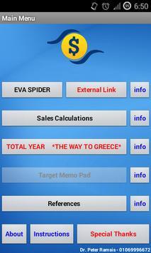 EVA Sales Tool screenshot 1