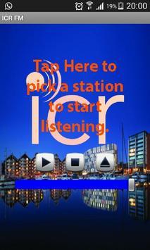 ICR FM poster
