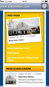 klikcirebon.com apk screenshot