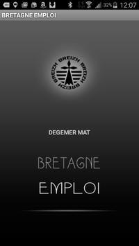BRETAGNE EMPLOI poster