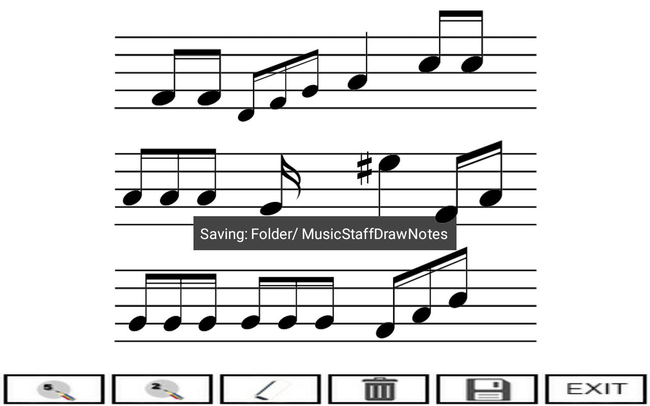 Music Staff Draw Notes For Android Apk Download