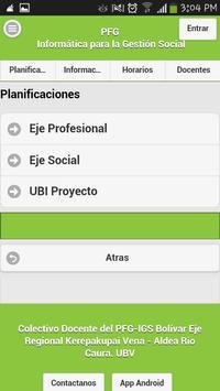 PFG IGS Bolívar screenshot 5