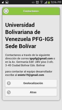 PFG IGS Bolívar screenshot 2