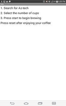 Az-tech: Liquid gold coffee screenshot 1